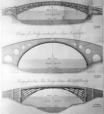 architectural drawings of bridges. Modren Bridges Design For A Cast Iron Bridge Between Madely And Brosely With The Signature  F Pritchard To Architectural Drawings Of Bridges B