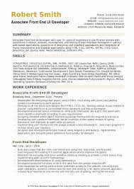 A person not afraid of math and statistics. Front End Developer Resume Sample Of Entry Level Web Developer Resume Beautiful Front End Ui Developer Resume Samples Free Templates