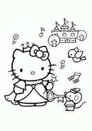 Domain name in this beautiful picture, hello kitty is holding on a valentine's heart. Hello Kitty Free Printable Coloring Pages For Kids