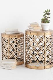 gallery of unique round white bedside table with storage of ideas side tables for bedroom trends