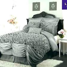 ruffle bed comforter plum and grey comforter sets gray comforter sets queen another great find on