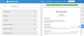 Resume Suggestion 5 Best Actually Free Resume Builder Websites Career Tool Belt