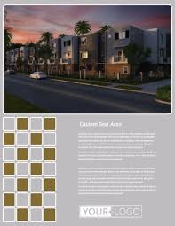 Apartment Complex Flyer Template