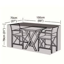 protector 2 seater bistro set cover 150cm