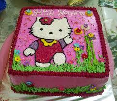 Kue Ulang Tahun Hello Kitty Fina Cakes Pontianak