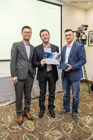 ЛУИС получила диплом Выдающийся дистрибьютор hikvision  Особо отличившиеся партнеры в числе которых была и ЛУИС были отмечены дипломами и фирменной наградой hikvision Нашу компанию на конференции представлял