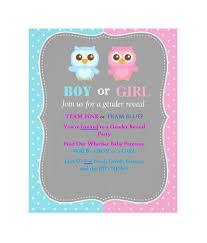 free gender reveal invitation template 08