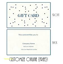 Make Your Own Gift Certificates Free Make Your Own Gift Voucher Template Free Online Certificate Creator