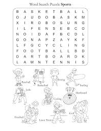 Word Search Puzzle Sports | Download Free Word Search Puzzle ...