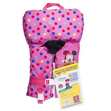 Swimways Disney Minnie Mouse Infant Life Jacket Review In