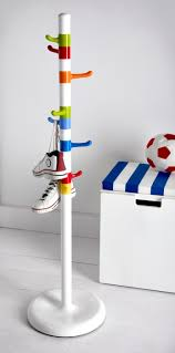 Ikea Kids Coat Rack KROKIG Clothes stand white multicolor Coat racks Room and 2