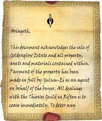 what is a bill of sale goldenglow bill of sale elder scrolls fandom powered by wikia