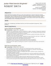 Field Service Engineer Resume Samples Qwikresume