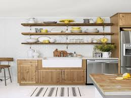 Rustic Kitchen Shelves Country Baffdab