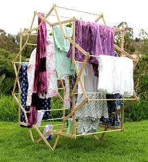 cloth drying rack portable clothes kmart wooden wall mounted india