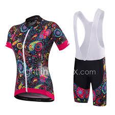Paladin Cycling Jersey Size Chart Malciklo Womens Short Sleeve Cycling Jersey With Bib Shorts
