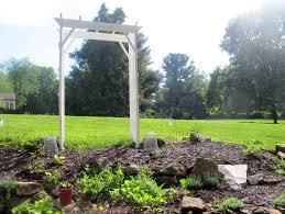 arbor ancd in garden