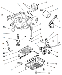 Chrysler 300m engine diagram 5014313aa genuine mopar valve oil cooler pressure control