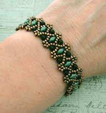 Free Beading Patterns Extraordinary Linda's Crafty Inspirations Free Beading Pattern Lizbeth Band