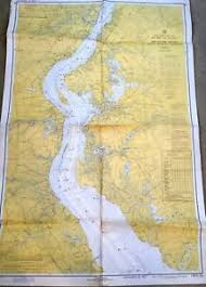 Vintage Nautical Charts Details About Vintage Nautical Chart Map Nj Del Delaware River Smyrna River To Wilmington