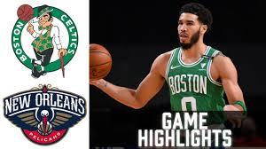 Celtics vs Pelicans HIGHLIGHTS Full Game