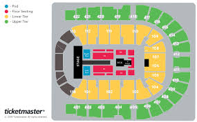 The O2 London Tickets Schedule Seating Chart Directions