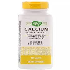 Nature's Way <b>Calcium Bone Formula</b> Magnesium