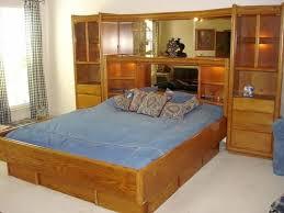 bedroom furniture wall units. Arbek The Grandview Collection Oak Pier Platform Bedroom Wall Furniture Units To