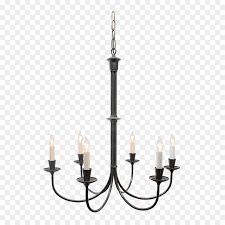 Englisch Decke Kerze Kronleuchter Schwarz Png