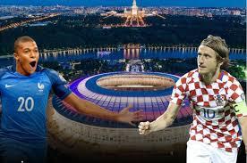 Resultado de imagen para Francia vs. Croacia Final Copa Mundial de Fútbol Rusia 2018