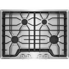 30 gas cooktop. FGGC3045QS Frigidaire 30 Inch Gas Cooktop - Stainless Steel