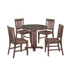 morocco 5 piece patio dining set
