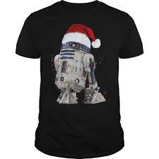 Christmas T Shirts Led Lights Star Wars R2d2 Christmas Led Light T Shirt Christmas Black
