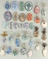wire wrap bails on some of our oil diffuser pendants eod4