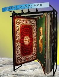 the rug rack best display introduces new area rug system and accessories article news archives rug
