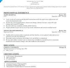 Resume Format With Cover Letter Simple Lpn Cover Letter Examples Practical Nursing Student Resume Sample