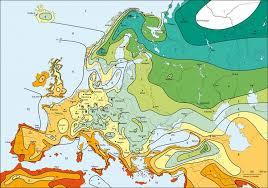 Hardiness Zone Chart Hardiness Zones Of Europe