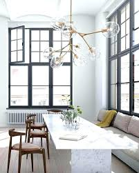 lindsey adelman you make it chandelier globe branching bubble chandelier room