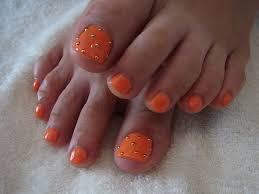 ペディキュア オレンジネイル 随時更新2013年夏の足元を流行で