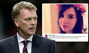 But the winger has put the story to bed in an interview with the daily mail. Manchester United Fans Send Woman Abusive Messages After Mistaking Her For David Moyes Daughter Daily Mail Online