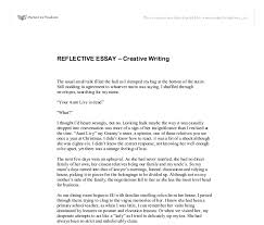 english reflective essay example personal reflection essay on samples of
