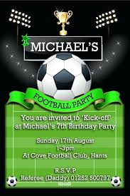 Football Party Invitations Templates Free Football Party Invitation Template Pool Party Invitations Templates