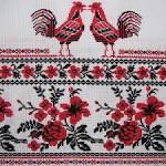 Узоры вышивки для полотенец в 40