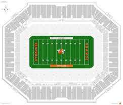 Syracuse Seating Chart Carrier Dome Syracuse Seating Guide Rateyourseats Com