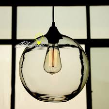nordic simple orb clear glass pendant lighting. Nordic Simple Orb Clear Glass Pendant Lighting 8884