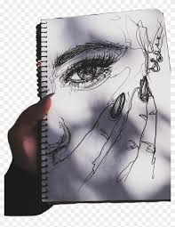 Aesthetic Tumblr Drawings Sketch Hd Png Download 1024x1275
