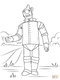 Small Picture Wizard of Oz Tin Man coloring page Free Printable Coloring Pages