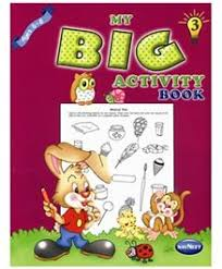 navneet my big activity book part 3 english