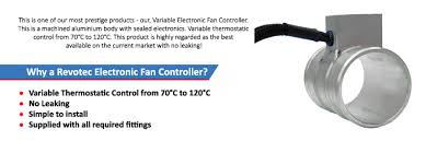 electronic fan controller hose fitting revotec fan wiring diagram revotec's innovative engineering team has developed this simple unit using this latest technology, components and assembly methods to products a robust Revotec Fan Wiring Diagram