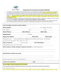 Nursing Report Template Samples Incident Report Sample Nurse Nursing